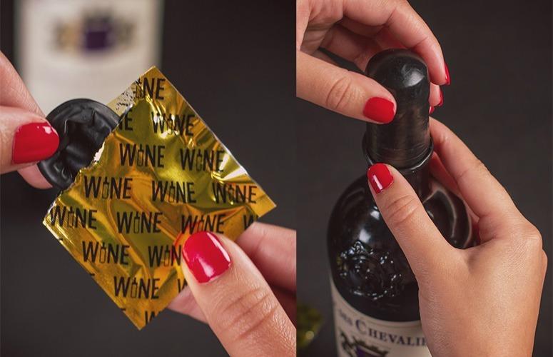 camisinha do vinho
