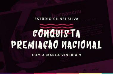 Estúdio Gilnei Silva conquista premiação nacional com a marca Vineria 9