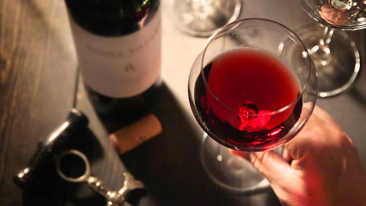 Temperatura ideal para servir o vinho tinto