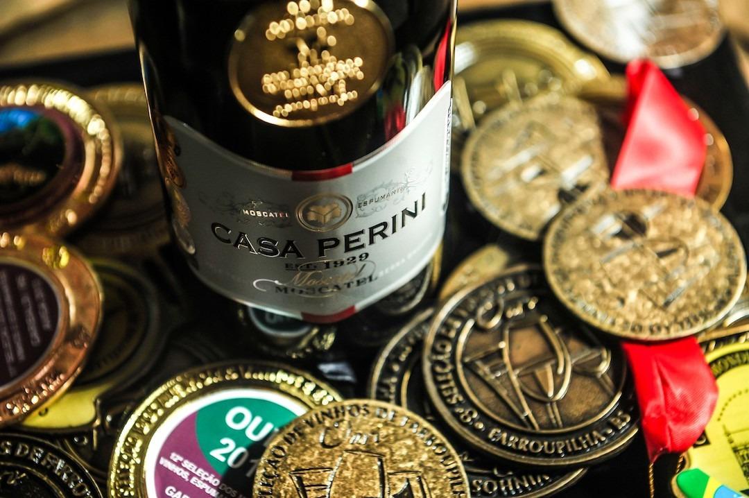 Espumante Casa Perini Moscatel é eleito o 5º melhor vinho do mundo
