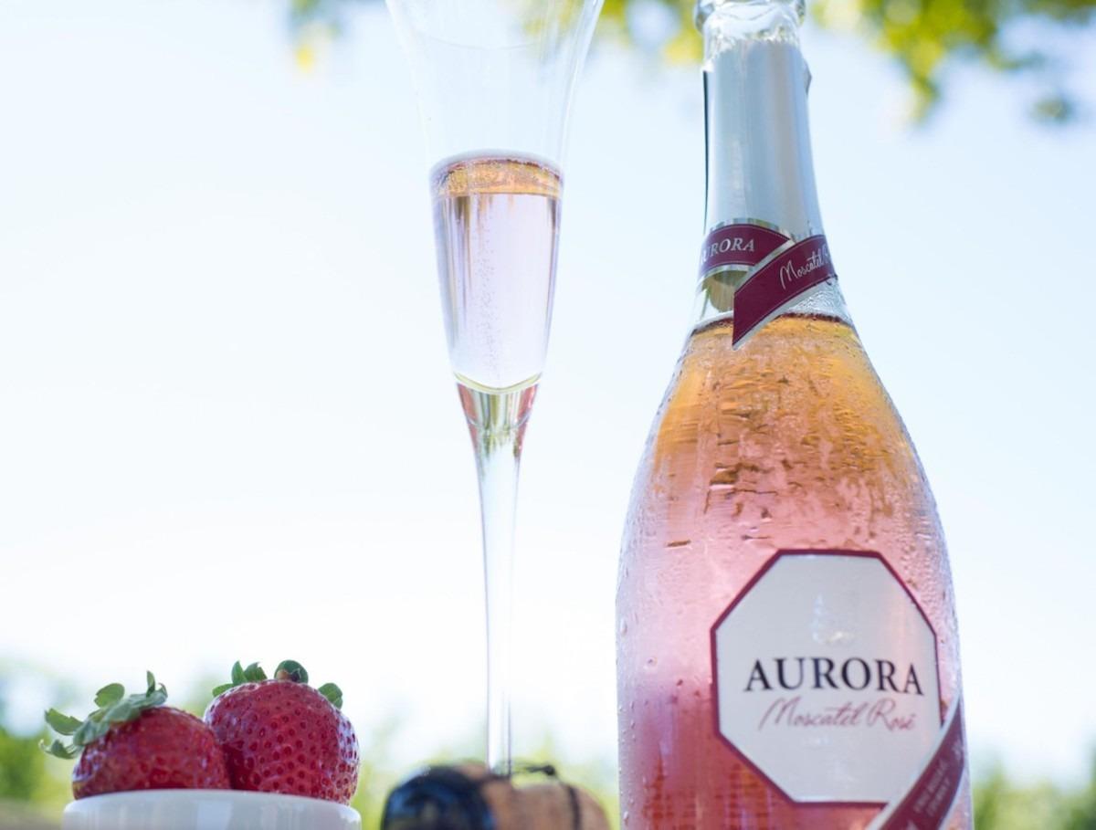 Aurora Moscatel Rosé se destaca em concursos 2018