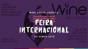 Wine South America - Feira Internacional do Vinho 2018